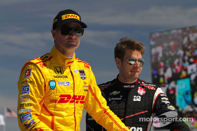 Ryan Hunter-Reay and Will Power
