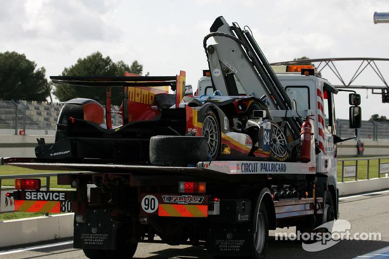 #34 Race Performance ORECA 03 Judd: 米歇尔·弗莱, 弗兰克·马耶厄, 达尼·克洛斯
