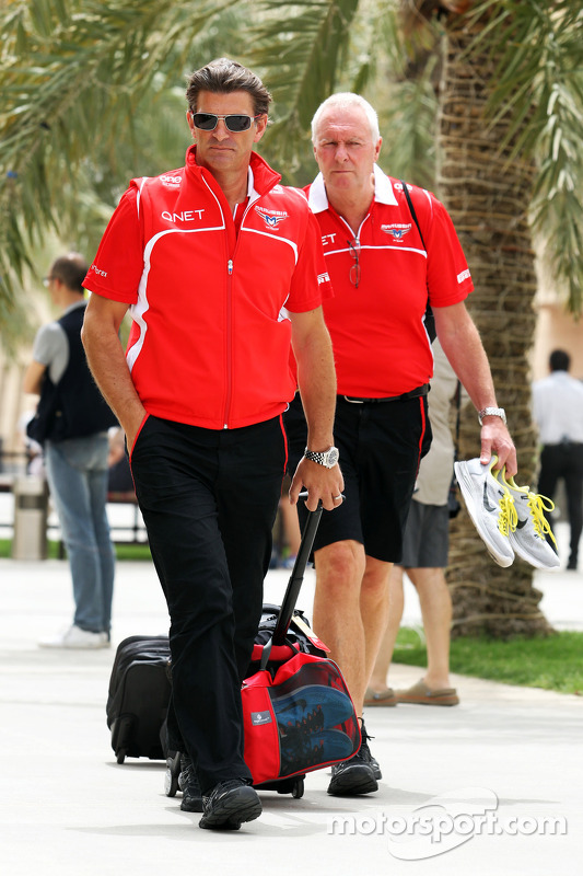 Graeme Lowdon, Amministratore delegato Marussia F1 Team