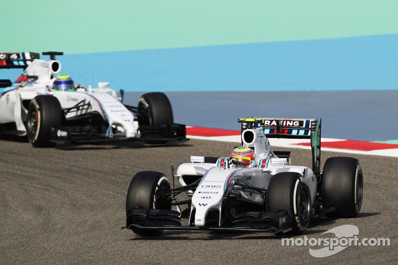 Felipe Nasr, Williams FW36 Test ve Yedek Pilotu ve Felipe Massa, Williams FW36