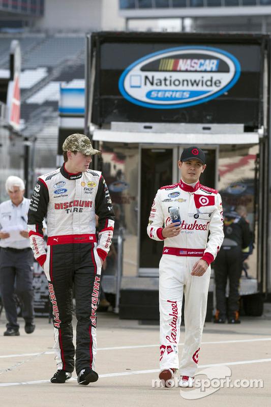 Ryan Blaney e Kyle Larson