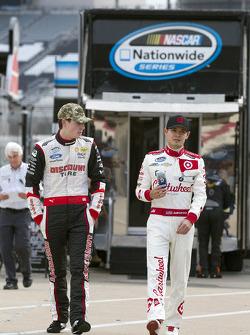 Ryan Blaney and Kyle Larson