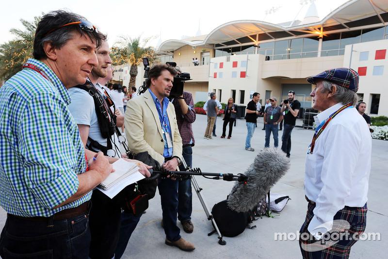 Jackie Stewart, intervistato dal figlio Paul Stewart