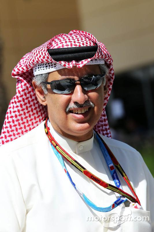 Zayed Rashed Al Zayani, Presidente del Circuito Internazionale del Bharain