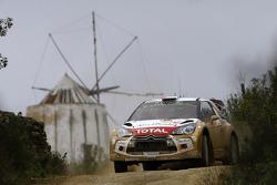 Khalid Al-Qassimi and Chris Patterson, Citroën DS3 WRC, Citroën Total Abu Dhabi World Rally Team