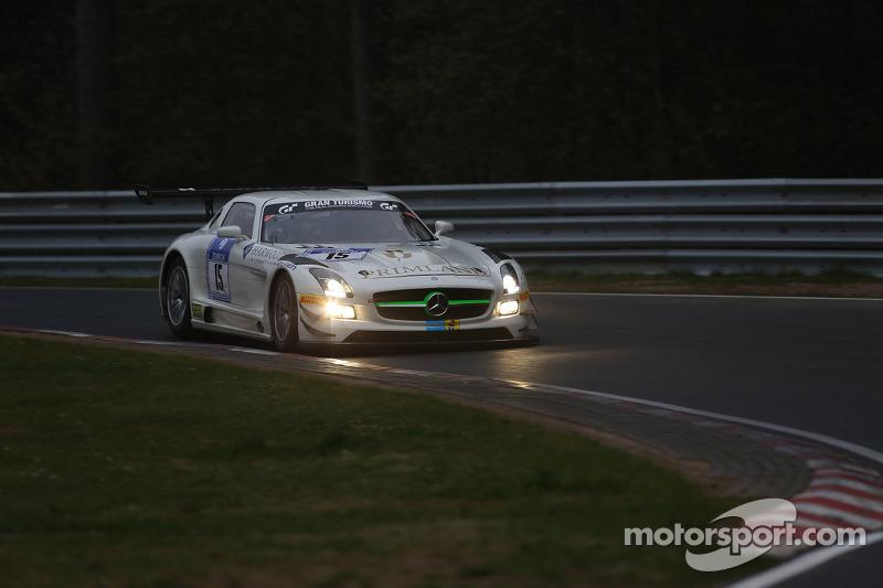 Harold Primat, Maximilian Götz, HTP Motorsport, Mercedes-Benz SLS AMG GT3