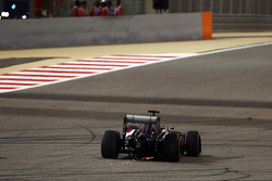 Adrian Sutil, Sauber C33 con scintille