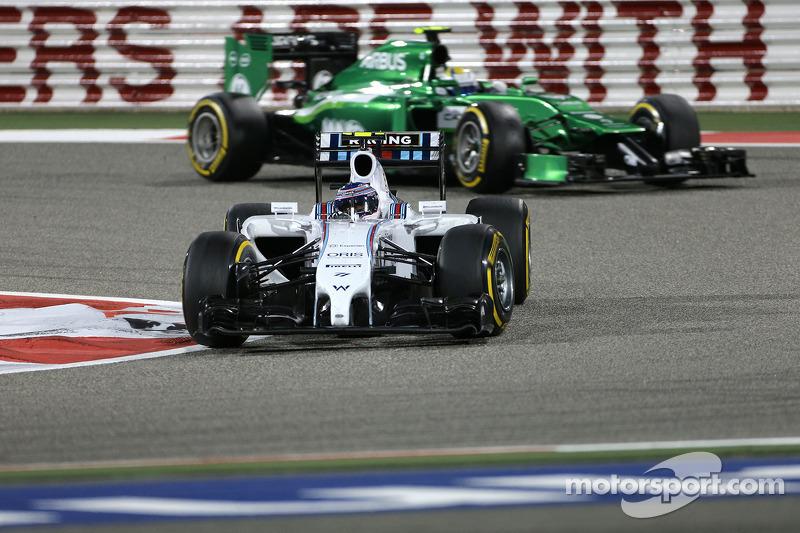 Valtteri Bottas, Williams F1 Team 06
