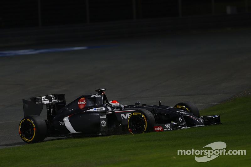 Adrian Sutil, Sauber C33  06