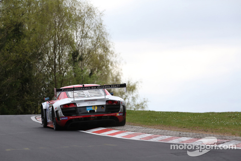 Felix Baumgartner, Marco Werner, Frank Biela, Pierre Kaffer, Audi race experience, Audi R8 GT3 LMS