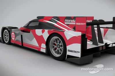 Honda unveils HPD ARX-04b P2 car