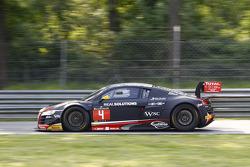 #4 Audi Belçika Klübü, WRT Audi R8 LMS Ultra Takımı: Christian Kelders, Yves Weerts, Jean-Luc Blanchemain