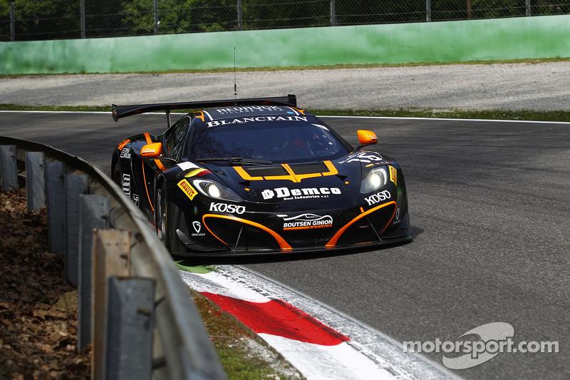 #16 Boutsen Ginion Team McLaren MP4-12C: Alex Demirdjan, Shahan Sarkissian, Phil Quaife