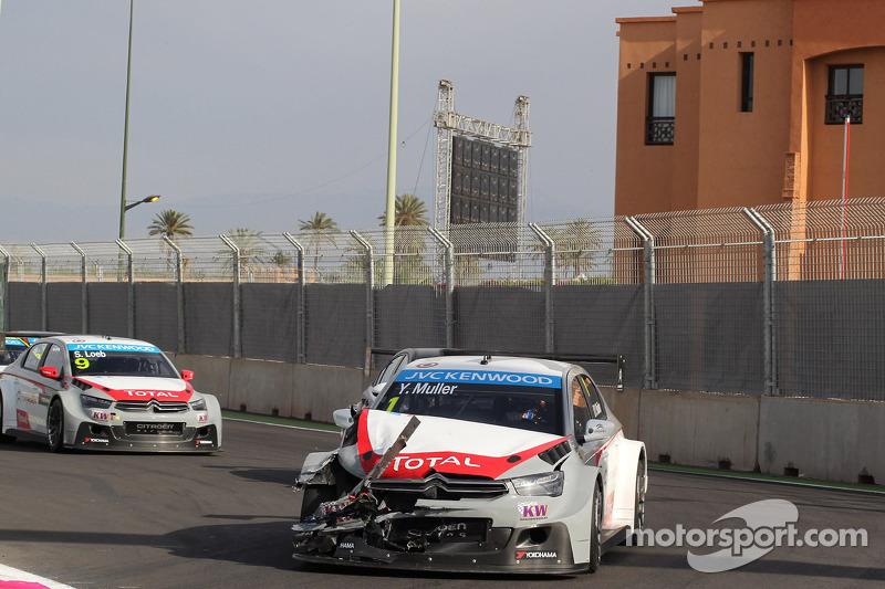 Kaza, Yvan Muller, Citroën C-Elysee WTCC, Citroën Total WTCC