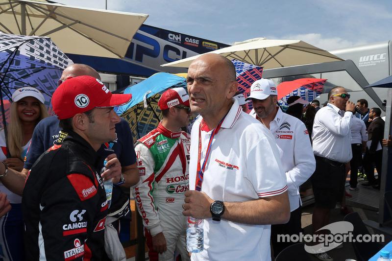Gianni Morbidelli, Chevrolet Cruze RML TC1, ALL-INKL_COM Munnich Motorsport e Gabriele Tarquini, Hon