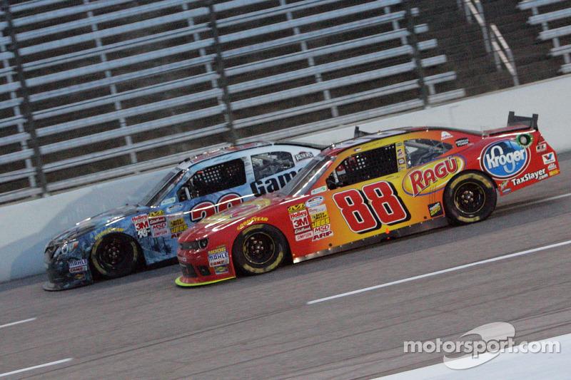Dale Earnhardt Jr. y Matt Kenseth
