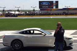 Bill Ford during Ford Motor Company's 50th anniversary celebration of Mustang