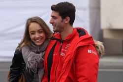 José María López, Citroën C-Elysée WTCC, Citroën Total WTCC y su novia