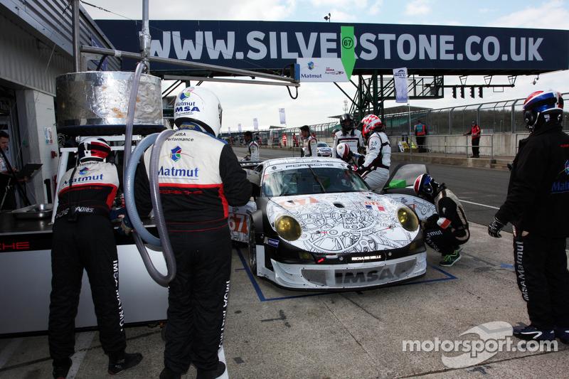 #67 IMSA Permormance Matmut 保时捷 911 GT3 RSR: 埃里克·埃拉里, 让·马克·梅兰, 埃里克·马里斯