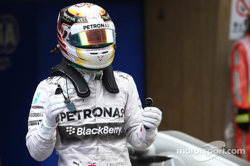 Pole per Lewis Hamilton, Mercedes AMG F1