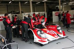 #13 Rebellion Racing Lola B12/60 - T oyota: Dominik Kraihamer, Andrea Belicchi