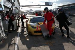 #95 AF Corse Ferrari F458 İtalya GT3: Adrien de Leener, Cedric Sbirrazzuoli