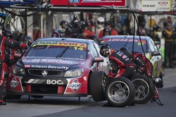 Fabian Coulthard at pitstop