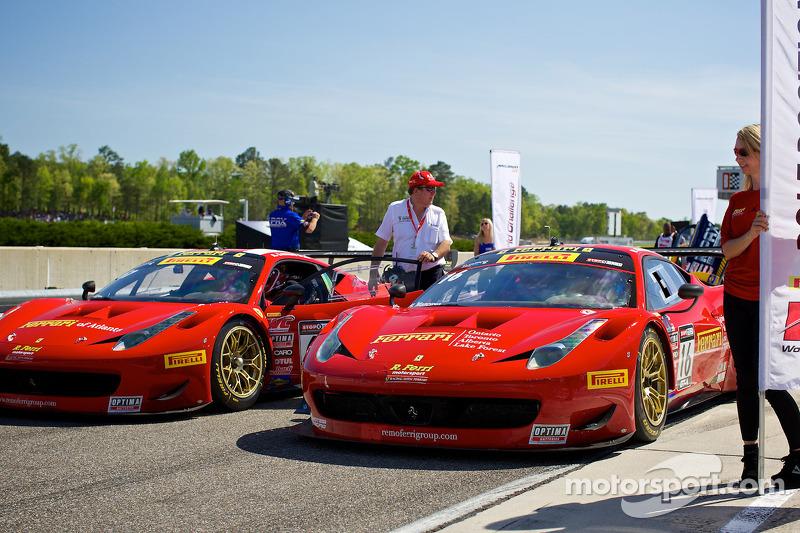 Ferrari'ler hazır