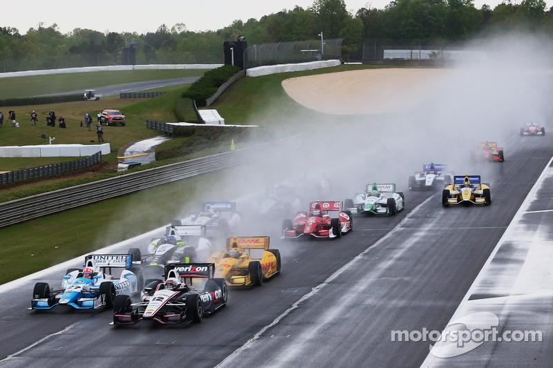 Partenza: Will Power, Team Penske Chevrolet al comando