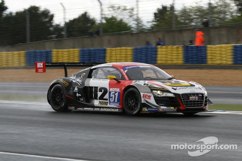 #51  塞巴斯蒂安·勒布 Racing 奥迪 R8 LMS Ultra: 亨利·阿西, 迈克·帕里西