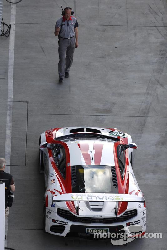 #14 MRS-GT-Racing 迈凯伦 MP4-12C GT3: 弗洛里安·斯潘格勒, 瑞恩·夏普