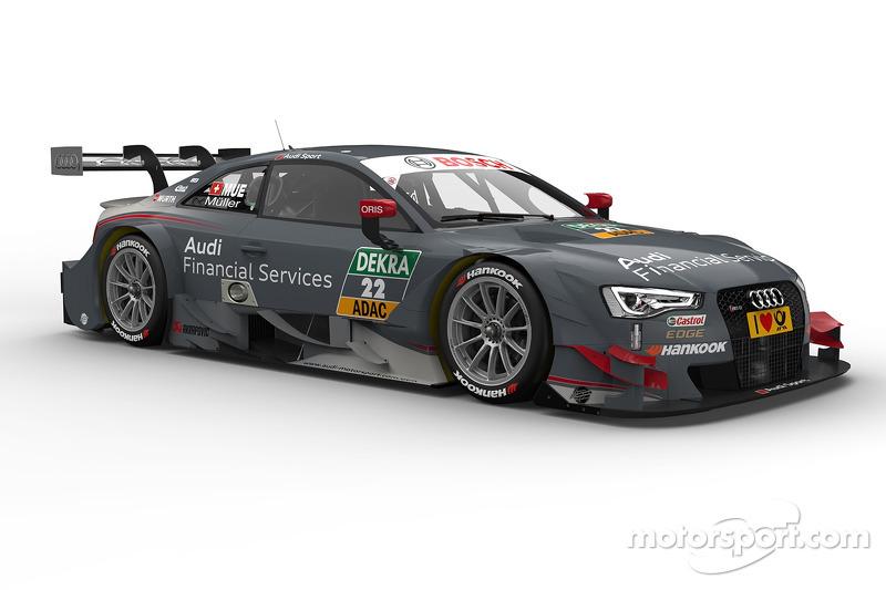 Nico Müller Audi Financial Services Audi RS DTM At Hockenheim - Audi financial
