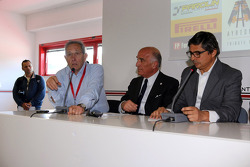 Press conference: the evolution of safety in F1, Mauro Forghieri, Angelo Sticchi Damiani, Giancarlo Bruno