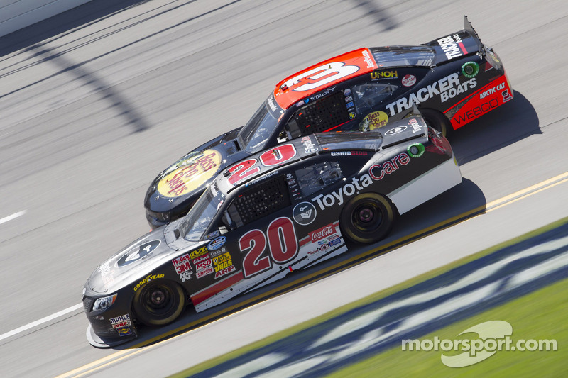 Darrell Wallace Jr. and Ty Dillon