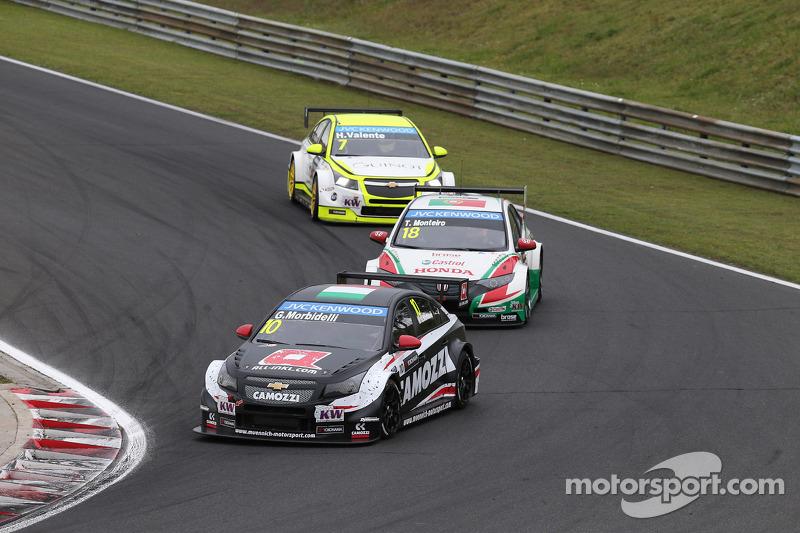 Gianni Morbidelli, Chevrolet RML Cruze TC1, ALL-INKL_COM Munnich Motorsport, Tiago Monteiro, Honda C
