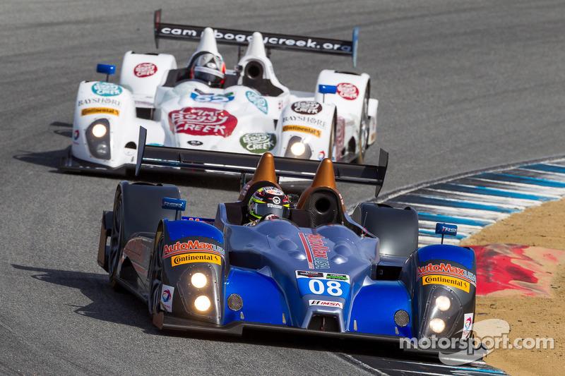 #08 RSR Racing ORECA FLM09: 克里斯·卡明, 阿历克斯·塔利亚尼