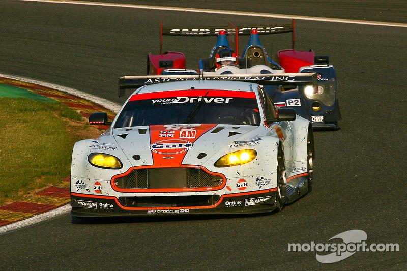 #95 Aston Martin Racing Aston Martin Vantage V8: Kristian Poulsen, David Heinemeier Hansson, Nicki T