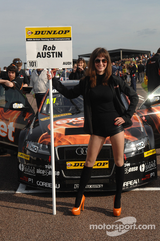Exocet Racing Grid girl