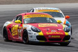 #43 Team Sahlen Porsche Cayman: Joe Nonnamaker, Will Nonnamaker