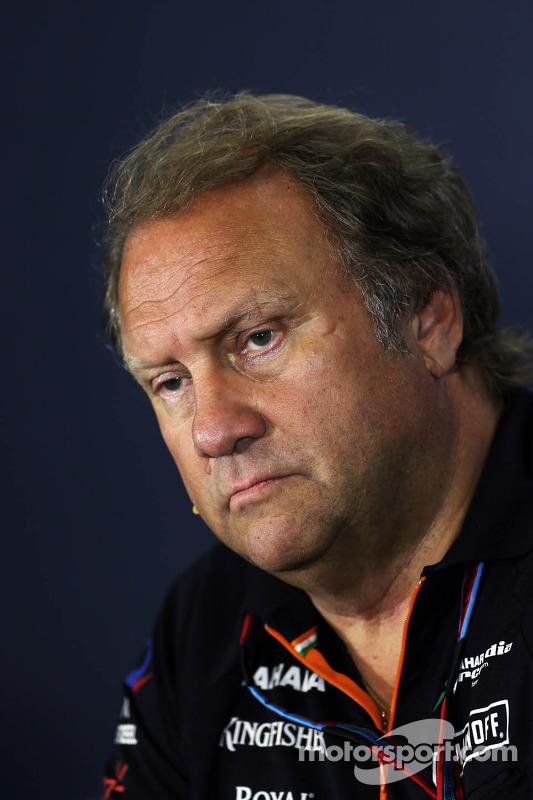 Robert Fernley, Sahara Force India F1, Stellvertretender Teamchef