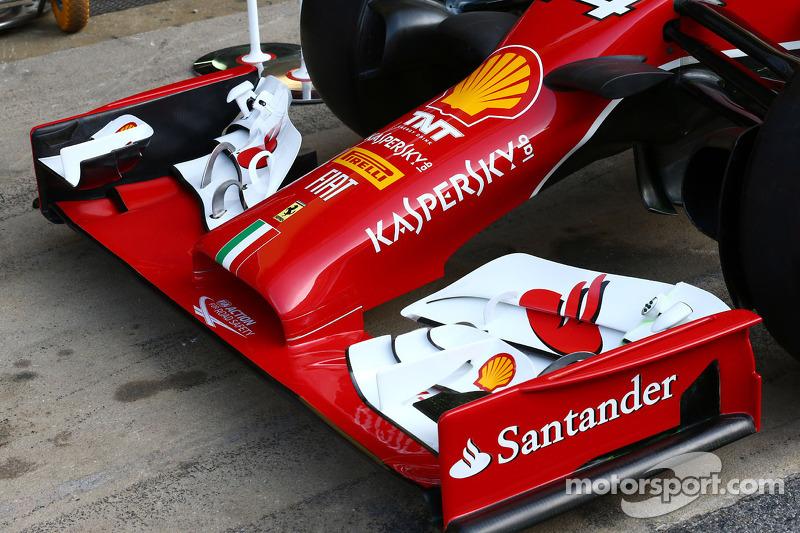Ferrari F14-T ön kanat