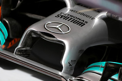 Mercedes GP front wing