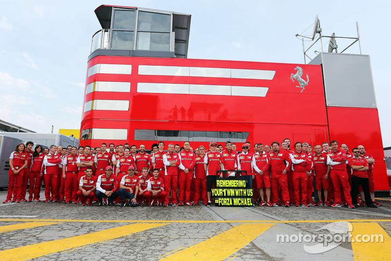 Ferrari recuerda como en 1996 Michael Schumacher, ganó su primer GP con el equipo