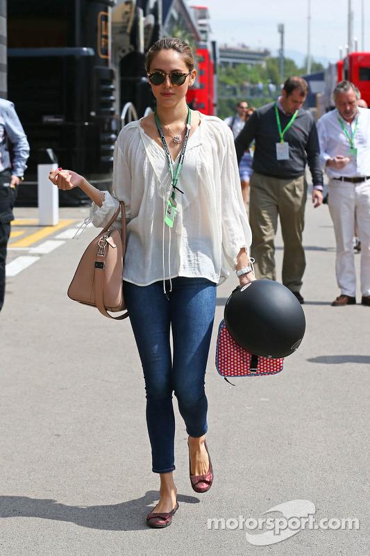 Jessica Michibata, Freundin von Jenson Button