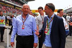Startaufstellung: Ron Dennis, McLaren, Geschäftsführer