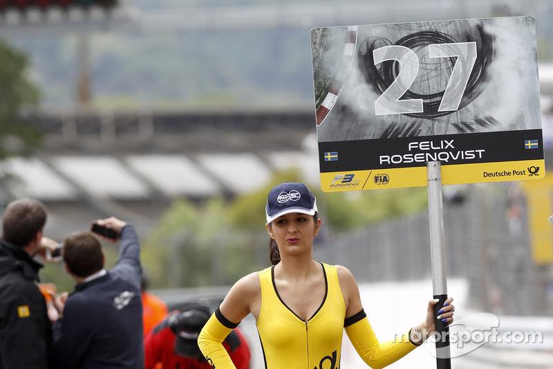 Felix Rosenqvist için grid kızı