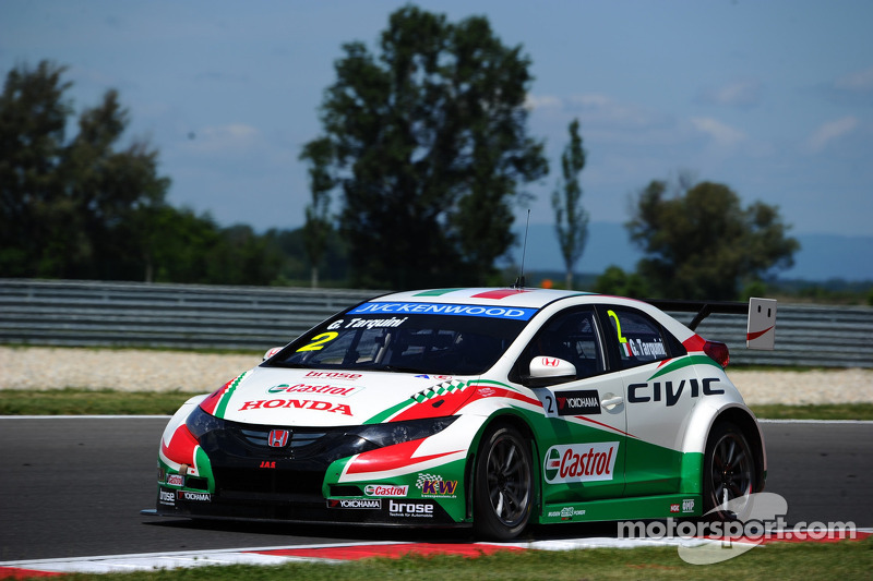 Gabriele Tarquini, Honda Civic WTCC, Castrol Honda WTCC Takımı