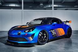 Présentation de l'Alpine A110 GT4