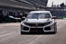 WTCR-Test in Monza, März