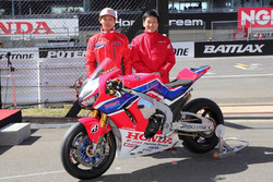 Team HRC Honda unveil